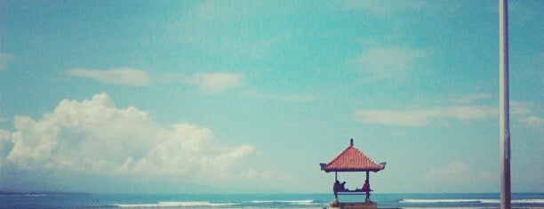 Sanur Beach is one of pick up.