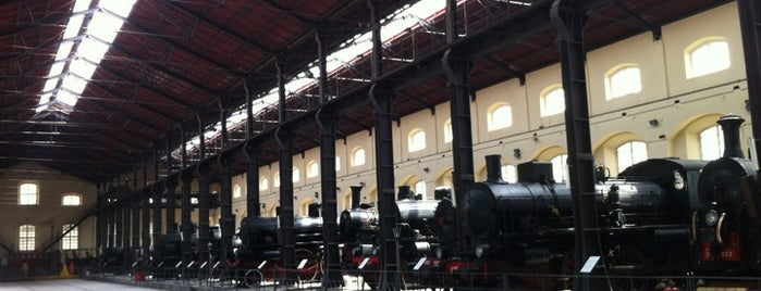 Museo Nazionale Ferroviario di Pietrarsa is one of Salvatoreさんの保存済みスポット.