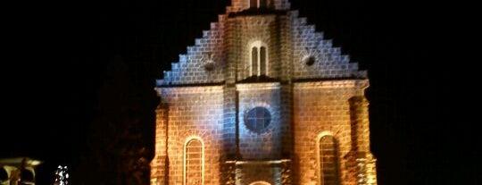 Parroquia San Pedro (Iglesia Matriz de Gramado) is one of Lugares favoritos de Maa.