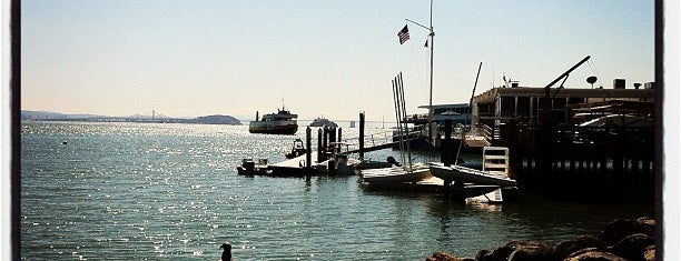 Sausalito Yacht Club is one of 101 places to see in San Francisco before you die.