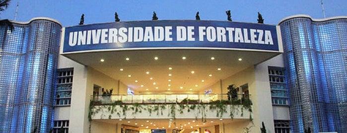UNIFOR - Universidade de Fortaleza is one of Locais.