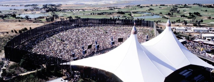 Shoreline Amphitheatre is one of #tivzlist Live Music Venues.