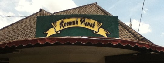 Roemah Nenek is one of What happens when food-addict strikes in Bandung.
