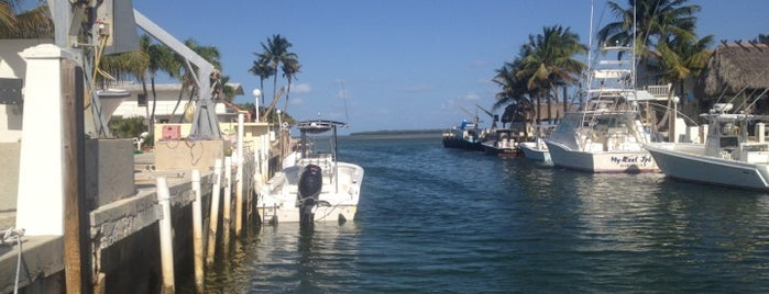 Plantation Key is one of The Florida Keys.