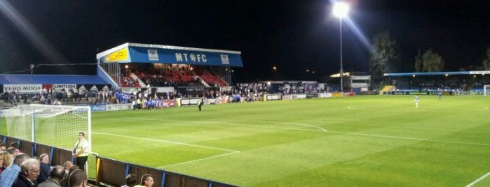 Moss Rose Stadium is one of Part 3~International Sporting Venues....