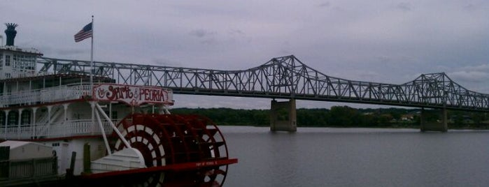 Peoria Riverfront is one of To Tip.