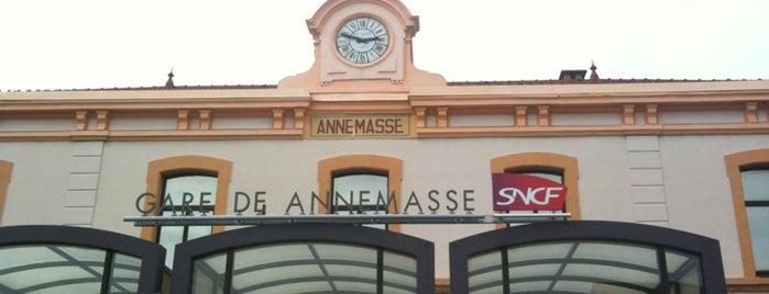 Gare SNCF d'Annemasse is one of Annemasse.