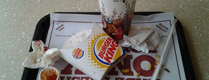 Burger King is one of Gespeicherte Orte von N..