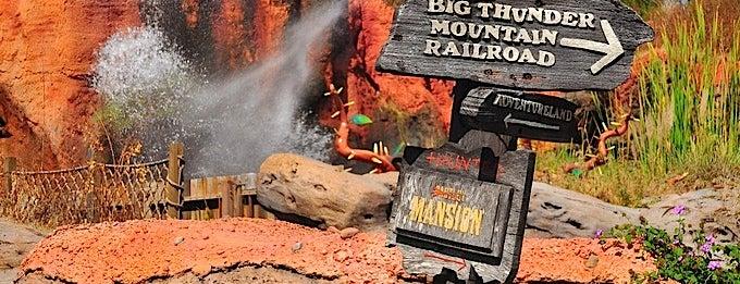Splash Mountain is one of Disney Land Florida.