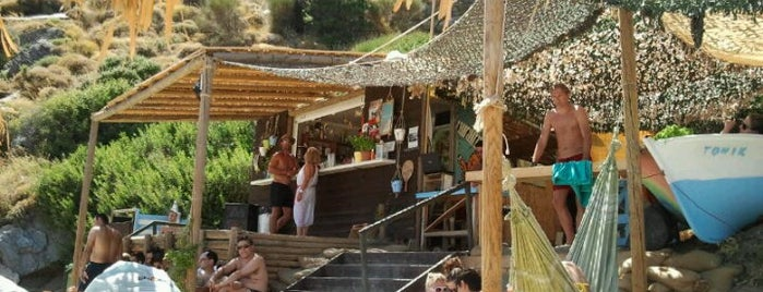 Πίσω Γυάλια Beach Bar is one of Visited.