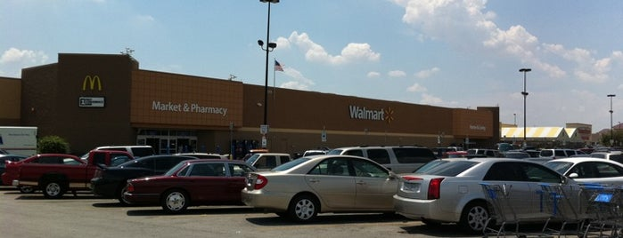 Walmart Supercenter is one of I've Been Here.