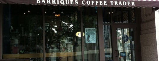 Barriques Coffee Trader is one of Mad Town.