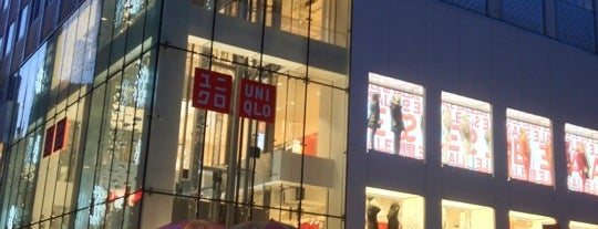 UNIQLO is one of NY.