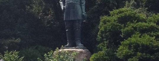 Saigo Takamori Statue is one of South West Japan.