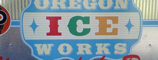 Oregon Ice Works/ Soup Works is one of Portland Faves.