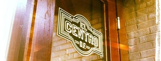 El Centro D.F. is one of D.C. Weekender: Food.
