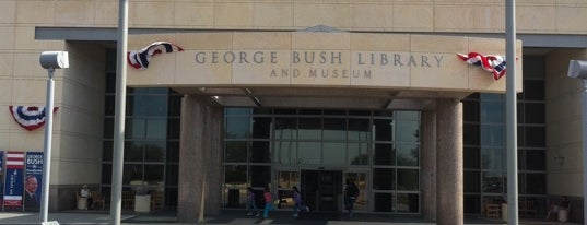 George Bush Presidential Library and Museum is one of Mr. President, Mr. President....