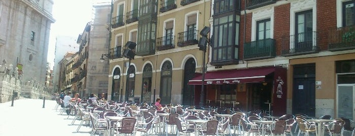 El largo adiós (Cafetín) is one of Valladolid.