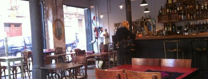En Aparté is one of los mejores lugares para comer en Barcelona.
