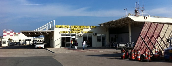 Chios National Airport Omiros (JKH) is one of Chios Island.
