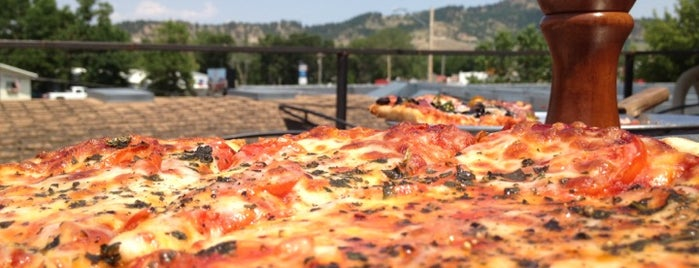Dough Trader Pizza is one of Bon Appetit Black Hills.