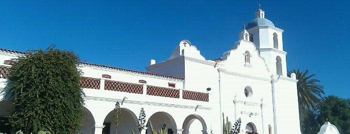 Mission San Luis Rey de Francia is one of Lugares favoritos de Stephen.