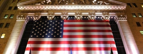 New York Stock Exchange is one of IWalked NYC's Wall Street (Self-guided tour).
