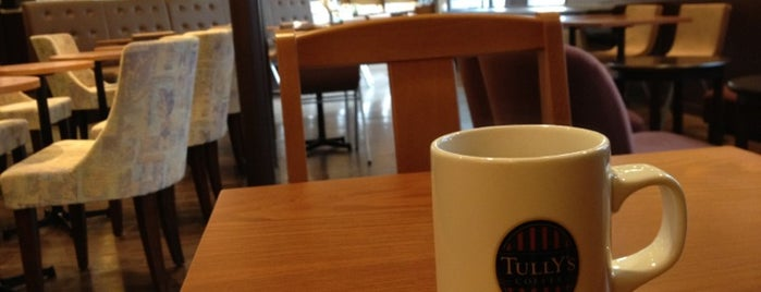 Tully's Coffee is one of ローカル.