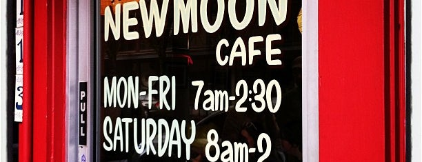 New Moon Cafe is one of Olympia.