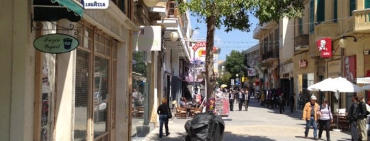 Ledras Street is one of Nikosia.