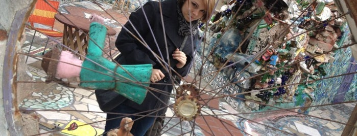 Philadelphia's Magic Gardens is one of Badge of Brotherly Love #visitUS.