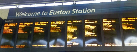 London Euston Railway Station (EUS) is one of The #AmazingRace 22 map.