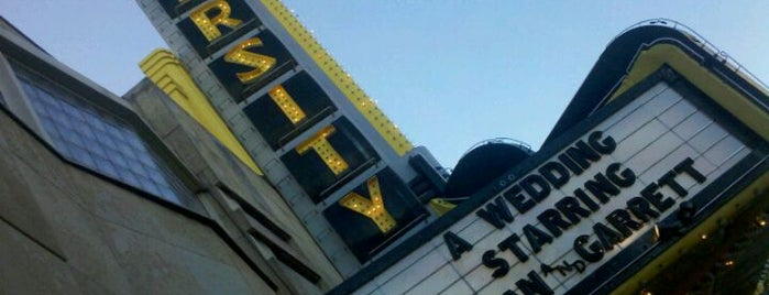 Varsity Theater & Cafe des Artistes is one of City Pages Best Of 10X.