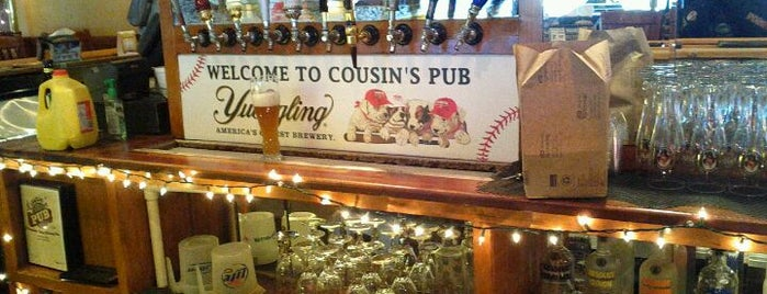 Cousin's Pub is one of Favorite Food.