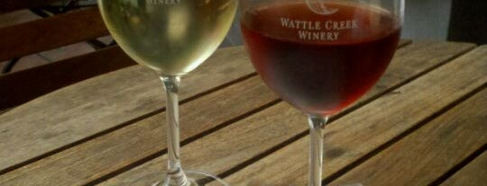 Wattle Creek Tasting Room is one of San Francisco Bars.