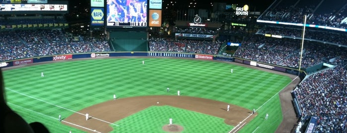 Turner Field is one of Ballparks Across Baseball.