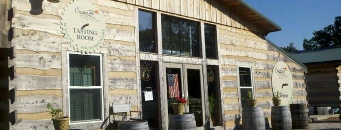 Charleville Vineyard & Brewery is one of Wineries and Microbreweries around St. Louis.