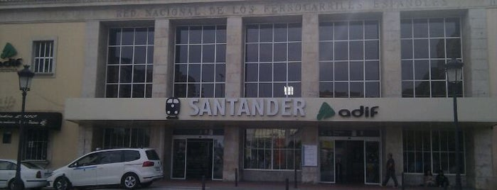 Estación de Santander is one of Locais curtidos por Caipirinha.