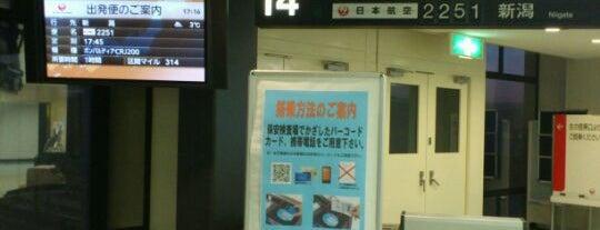 Gate 14 is one of 大阪国際空港(伊丹空港) 搭乗口 ITM gate.