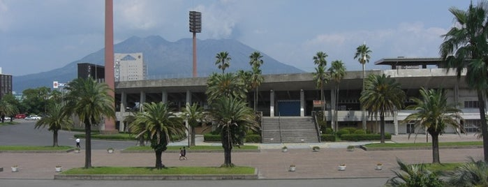 Shiranami Stadium is one of South West Japan.