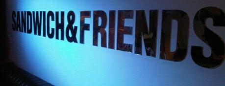 Sandwich & Friends is one of 20 favorite restaurants.