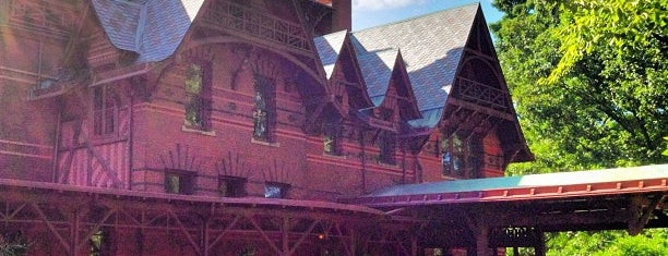 The Mark Twain House & Museum is one of 75 Geeky Places to Take Your Kids.