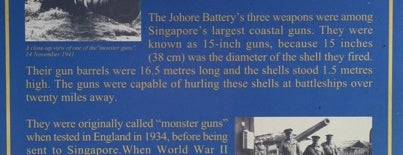 Johore Battery Site is one of Christine 님이 좋아한 장소.