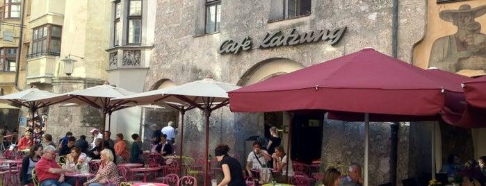 Café Katzung is one of สถานที่ที่ Luca ถูกใจ.