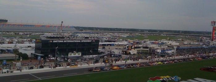 Daytona International Speedway is one of My NASCAR.