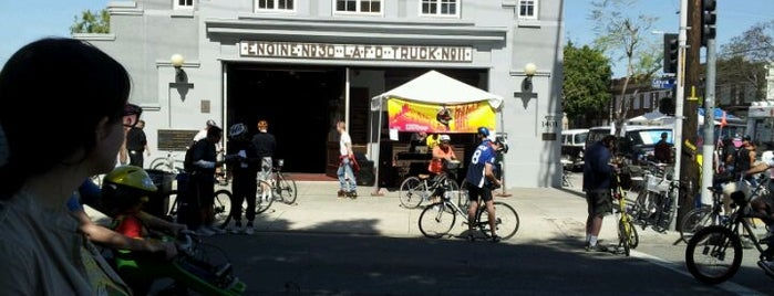 African American Firefighter Museum is one of CicLavia LA.