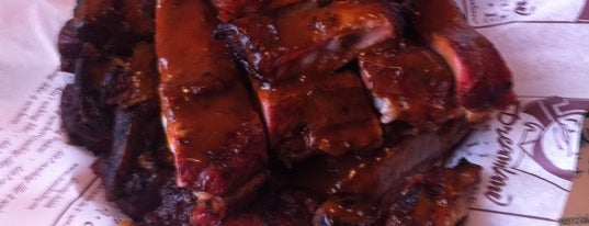 Dreamland Bar-B-Que Ribs is one of Orte, die Gabriela gefallen.