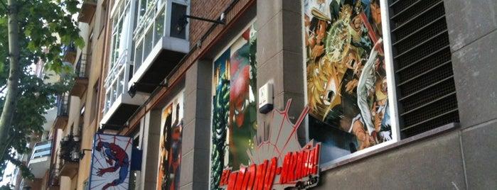 Tiendas de Comics de Madrid
