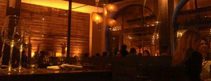 Akasha is one of Jonathan Gold's 99 Essential LA Restaurants 2011.