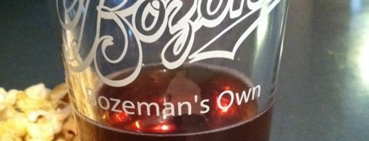 Bozeman Brewing Company is one of Big Sky.